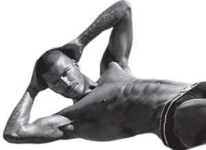 David Beckham doet Pilates