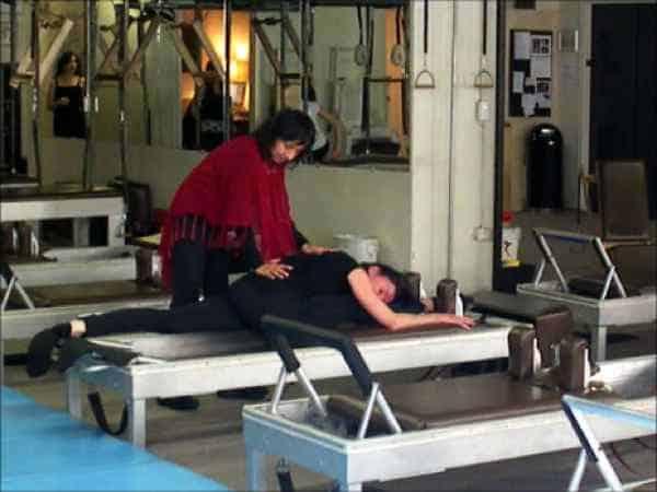Sari Mejía Santo en Anna Rubau in Dragos Gym te New York