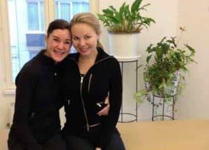 anna-rubau-en-lesley-ann-poppe-na-de-training