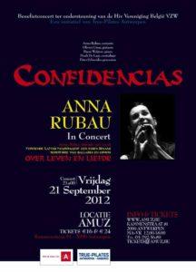 confidencias-poster met Anna Rubau