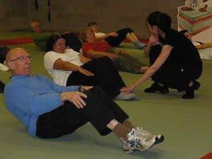 Pilates Mat oefeningen door True-Pilates te Wijnegem