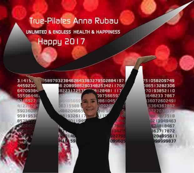 Happy New Year 2017 van True-Pilates Antwerpen