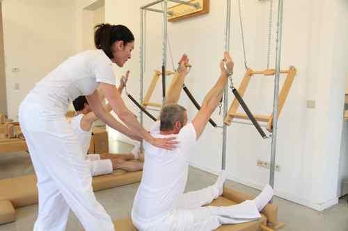 Pilates oefeningen door Anna Rubau van True-Pilates Antwerpen