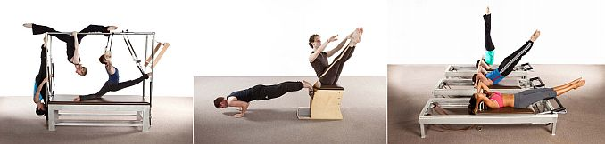 Pilates training Advantage Dancers