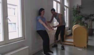 Wall exercise True-Pilates methode