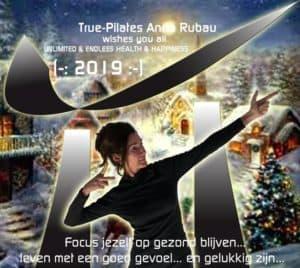 Happy 2019 vanwege Anna Ruba en True-Pilates Antwerpen