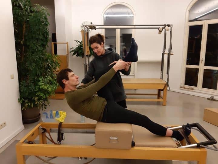 Speciale Pilates Oefeningen met Luc Door Anna Rubau