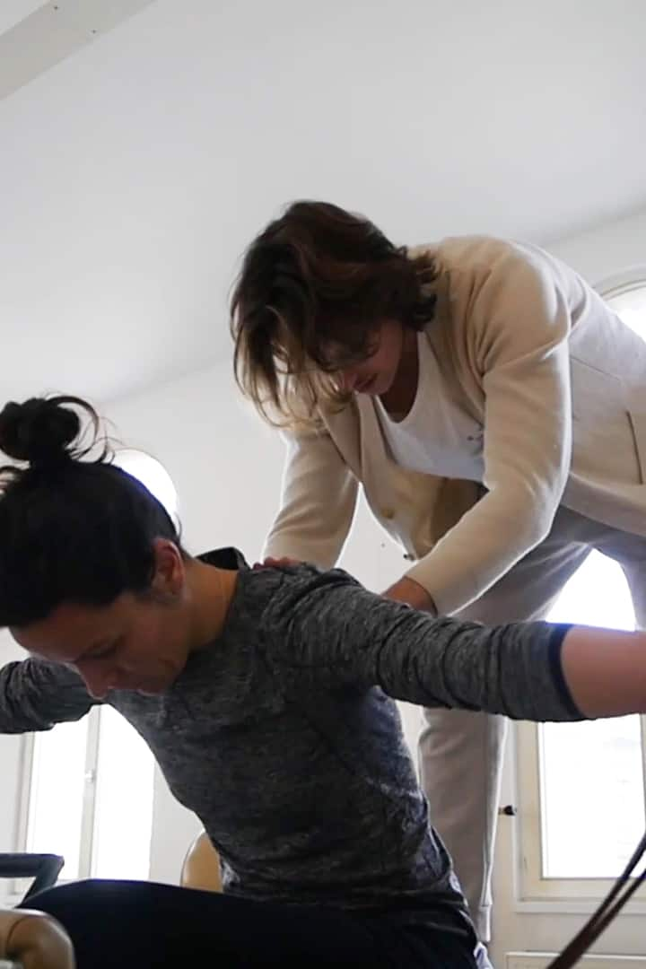 Michiel Gysel True pilates instructor