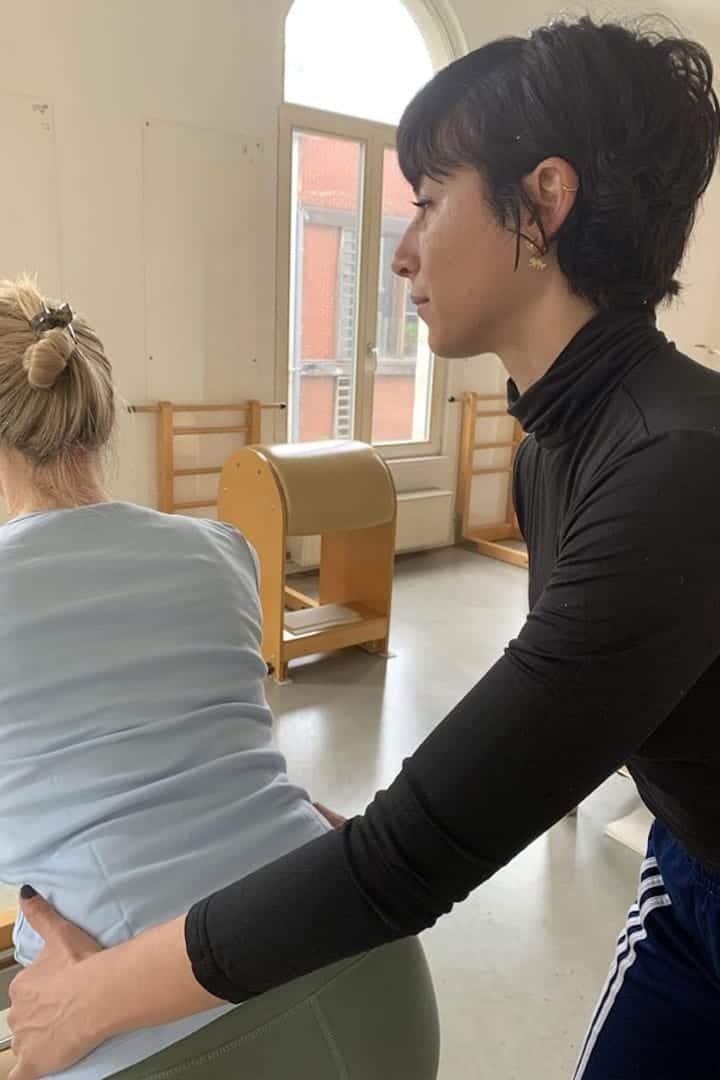 Tugba True pilates instructor