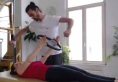 Arm oefening Studio True Pilates Antwerpen